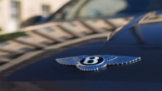 Bentley avtomobili (stock image)