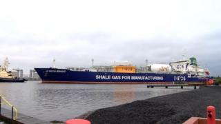 Shale ship