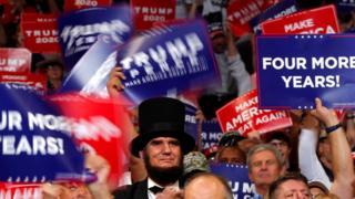 Дональд Трамп начал избирательную кампанию