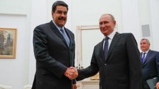 El apoyo de Vladimir Putin ha sido fundamental para el gobierno de Nicolás Maduro.
