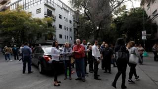 Мехико после землетрясения