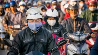 Tình trạng ô nhiễm không khí tại Hà Nội đã lên tới mức báo động đỏ