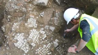 Mosaics found in Leicester