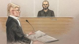 Prosecutor Brian Altman QC outlining case against Khalid Ali