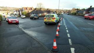 Carlton Southdale Road police crash IPCC Nottingham