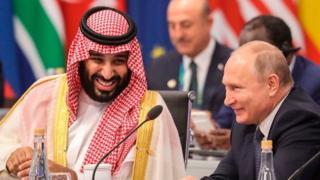 सऊदी प्रिंस और रूसी राष्ट्रपति पुतिन
