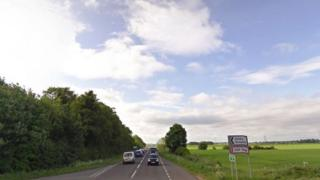 A15 in Lincolnshire