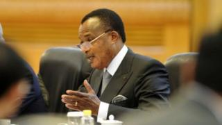 Denis Sassou Nguesso président du Congo