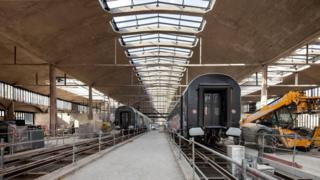 Station F en construcción