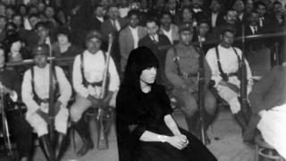 María del Pilar en su juicio