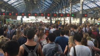 Brighton Station closure
