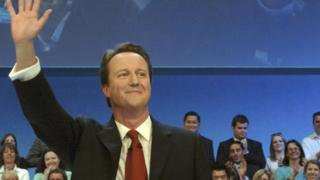 David Cameron at Conservative Party Conference in 2006