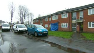 Murder investigation in Forge Road in Stourbridge