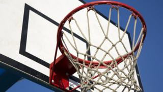 Picture of a Basketball Hoop