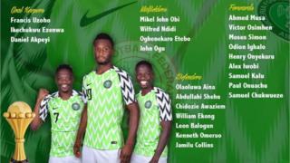 Aha ndị ga-agba Afcon 2019