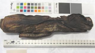 The burnt scroll