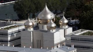 Православный Свято-Троицкий собор в Париже