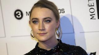 Irish actress Saoirse Ronan arrives for the British Independent Film Awards (BIFA)