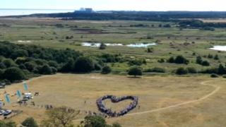 The Minsmere heart