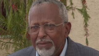 Hogaamiyaha jabhadda ONLFMaxamed Cusmaan