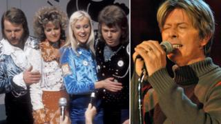 Abba and David Bowie
