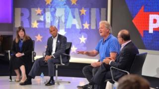 Tim Martin debating Brexit