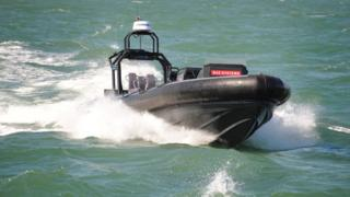 A 'drone' boat being developed for the Royal Navy