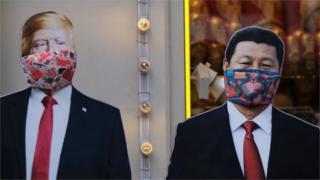 Đại dịch virus corona làm mối quan hệ Trump-Tập tồi tệ hơn