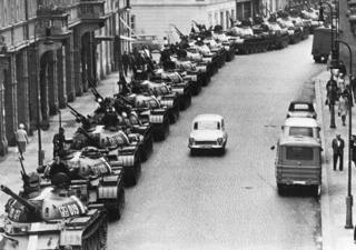 Оккупированная Прага
