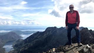 Hugh Munro in Skye