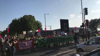 Protest in Birmingham