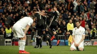 رئال مادرید برای اولین بار از سال ۲۰۰۴، چهار باخت پیاپی در ورزشگاه سانتیاگو برنابئو را تجربه کرده است