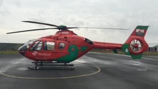 Welsh air ambulance