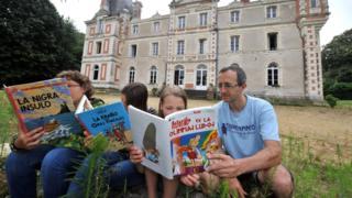 Французькі діти вчать есперанто