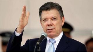 Shugaban kasar ta Colombia ya ce yana fatan yarjejeniyar zata kawo karshen rikicin daka dade anayi