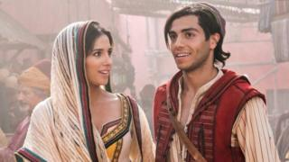 Aladdin stars Naomi Scott and Mena Massou