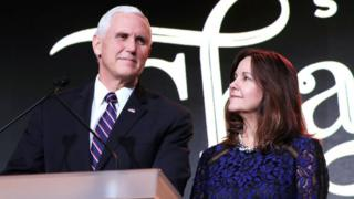 Mr and Mrs Pence
