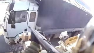 شلیک نظامی آمریکایی به راننده غیرنظامی