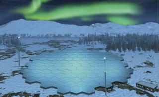 Artwork of radar