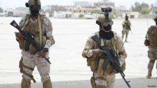 نظامیان سعودی در یمن