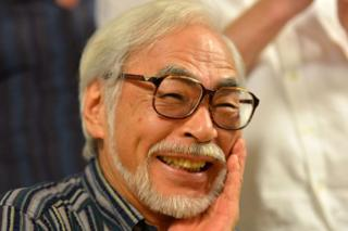 Oscar-winning Japanese animator Hayao Miyazaki speaks to the press in Tokyo on 13 July 2015.