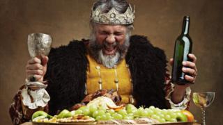Пьяный король