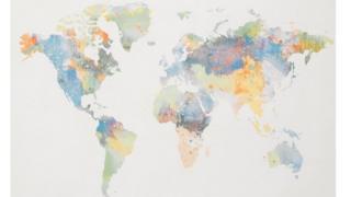 Мапа Без Нової Зеландії