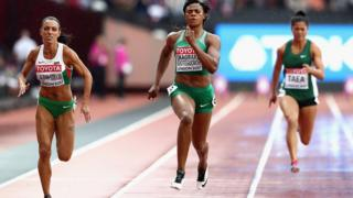 Blessing Okagbare for di 16th IAAF World Athletics Championships London