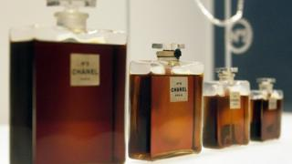 Chanel No5 bottles
