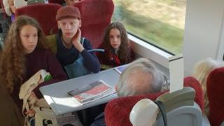'We're not moving' - when reserving a train seat goes wrong
