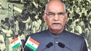 भारत के 14वें राष्ट्रपति रामनाथ कोविंद