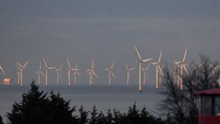 Gwynt y Mor wind farm