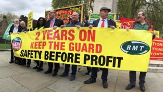 RMT Protest