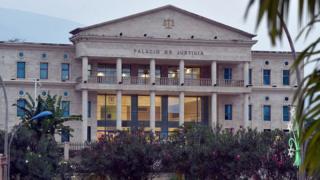 Un palais de justice à Malabo, la capitale de la Guinée Equatoriale